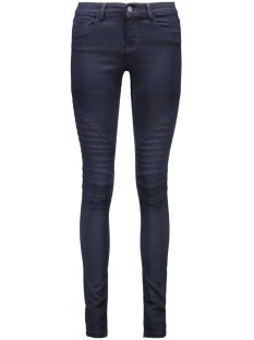 Noisy may Jeans NMEX LUCY NW BIKER 5 P J OVERDYED N 10160191 Dark blue denim