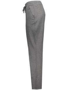 onlpoppy striped pant aps 15133124 only broek grey melange