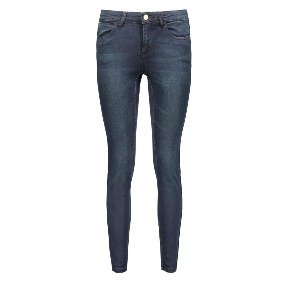 vicommit rw 5p 7/8 hk0148 14037129 vila jeans dark blue denim