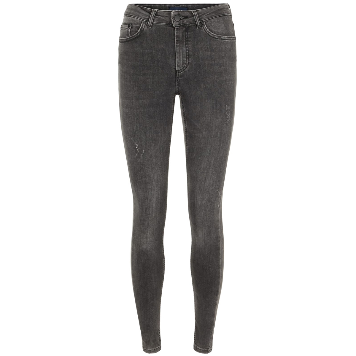 pcfive delly jeans grey noos 17080499 pieces jeans dark grey denim