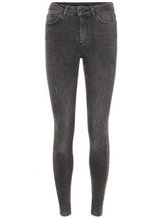 Pieces Jeans PCDELLY B219 MW SKN JNS 17080499 Dark Grey Denim