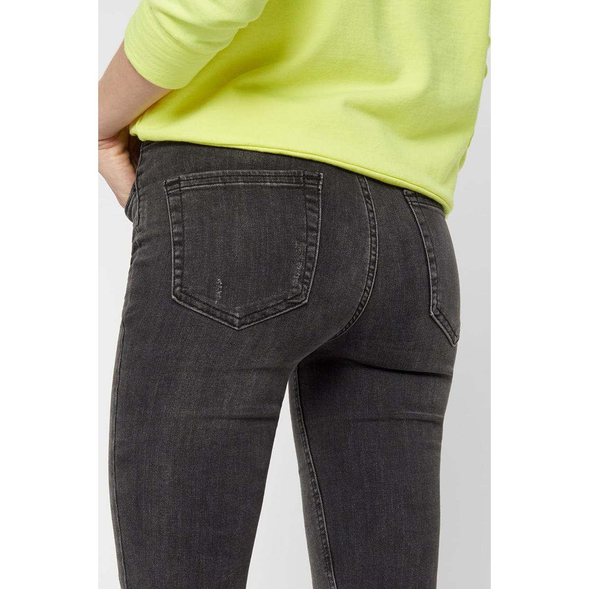 pcfive delly jeans grey noos 17080499 pieces jeans dark grey denim