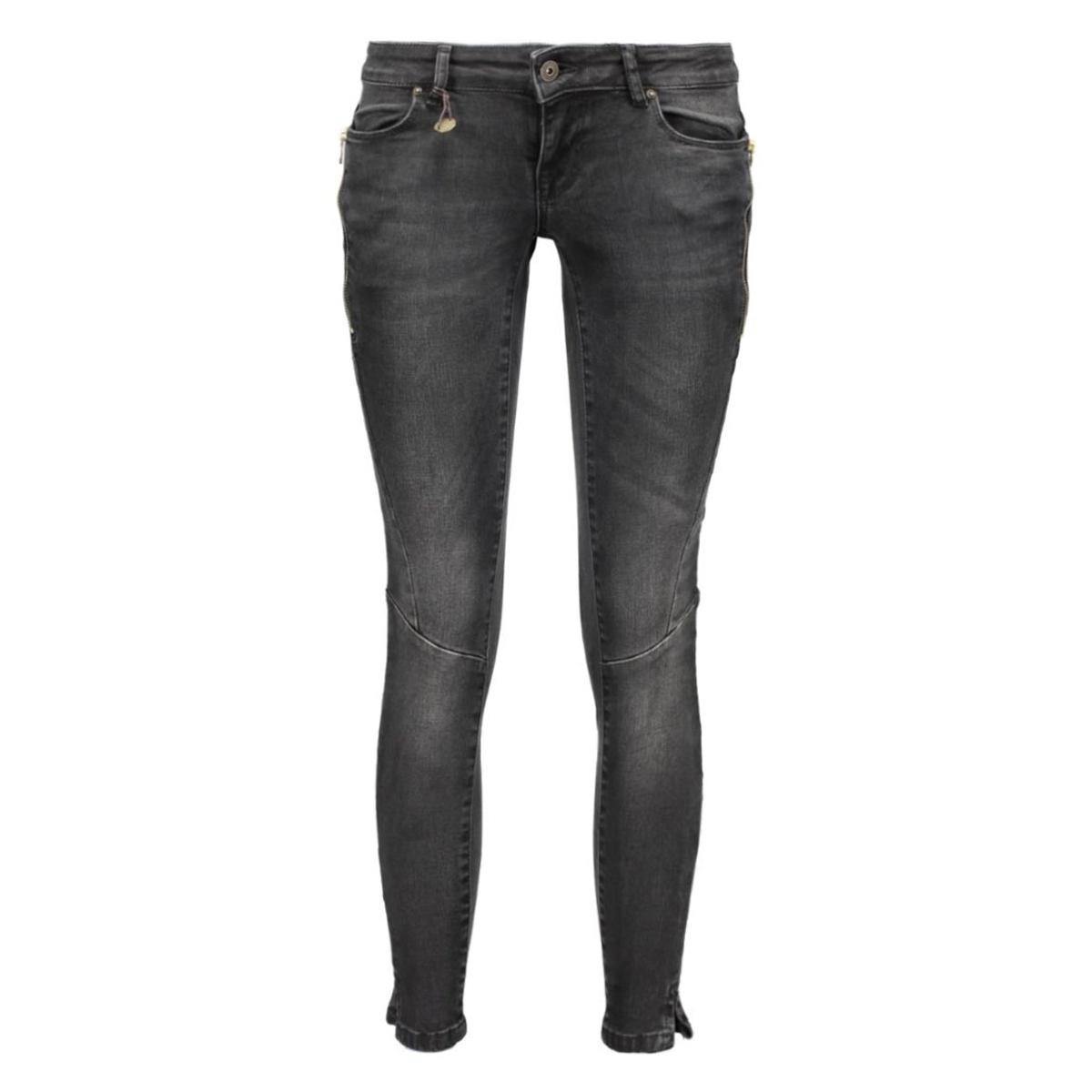 onlcoral sl sk zip an dnm jeans rea13470 15123239 only jeans black denim