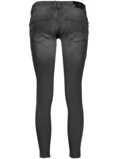 onlcoral sl sk zip an dnm jeans rea13470 15123239 only jeans black denim