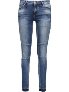 Only Jeans onlCARMEN R SK ANKLE Z DNM JEA REA1 15124056 Medium blue denim