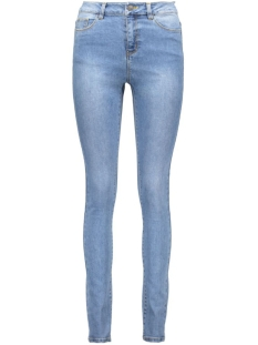 vmnine hw slim jeans gu201 10160409 vero moda jeans medium blue denim
