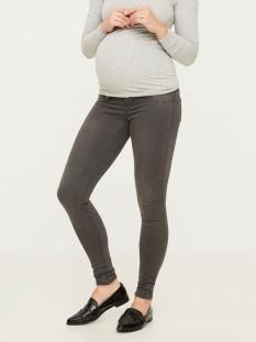 mlella skinny grey jeans - noos 20006842 mama-licious positie broek grey denim