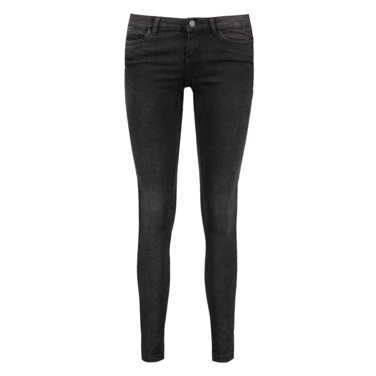 nmeve lw ss ankle jeans vi876 10165203 noisy may jeans black