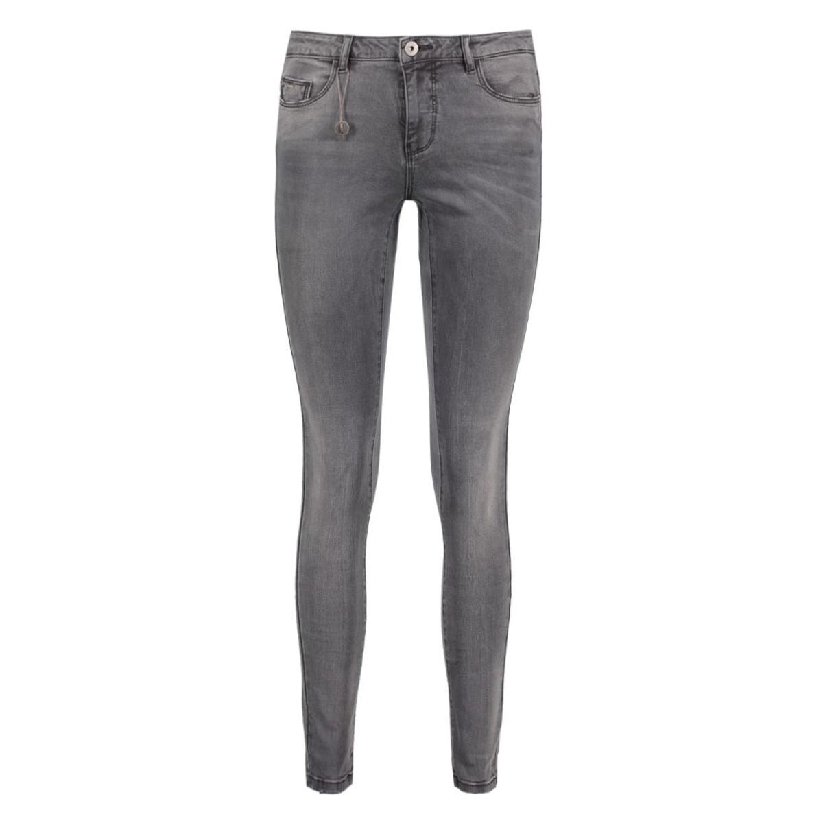 onlcarmen reg sk dnm jeans bj8280 noos 15124425 only jeans medium grey melange