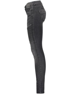nmeve lw super s. biker jean ct125 10143107 noisy may jeans black/washed
