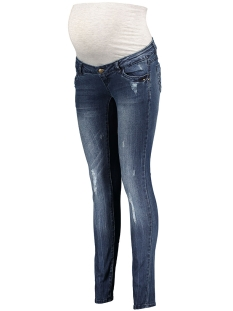 Mama-Licious Positie broek MLTROPEZ SLIM JEANS - STARS 20006508 Medium Blue Denim