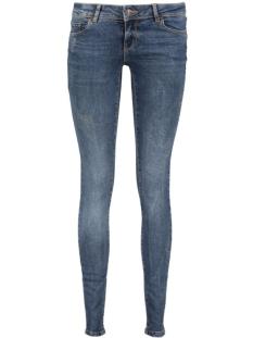 Vero Moda Jeans VMFIVE LW SUPSLIM DESTR JEANS BA128 10180506 Dark Blue Denim