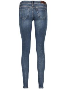 vmfive lw supslim destr jeans ba128 10180506 vero moda jeans dark blue denim