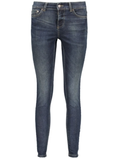 OBJSKINNYSARAH MW 7/8  OBB210 23024115 Dark Blue Denim