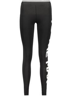 Only Legging onlGRAPHIC STATEMENT LEGGINGS JRS 15136300 Black/To the Max