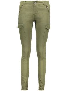 Vero Moda Broek VMSEVEN COLOR ZIP PANTS 10176857 Ivy Green