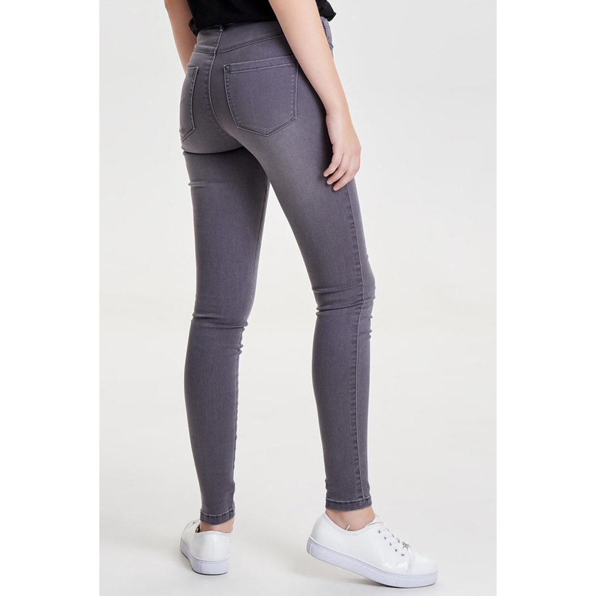onlroyal high sk jeans grey pim900 15106783 only jeans medium grey denim