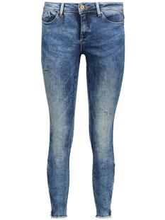 Only Jeans onlCARMEN REG AN ZIP DNM JEANS CRE1 15127084 Medium Blue Denim