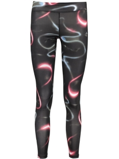 Only Play Sport broek onpCOSIMO AOP TRAINING TIGHTS 15125298 Clearwater