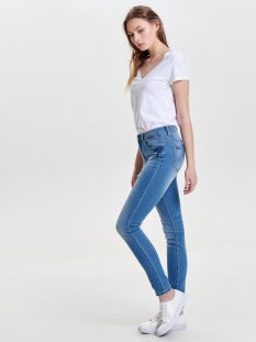 onlcarmen reg  sk dnm jean bj8191-1 15132438 only jeans medium blue denim