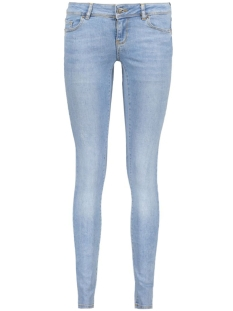 Vero Moda Jeans VMFIVE LW SUPSLIM DESTR JEANS BA959 10170548 Light blue denim