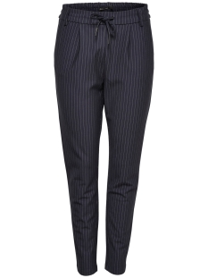Only Broek onlPOPTRASH CLASSIC PINSTRIPE PANT 15136329 Night Sky
