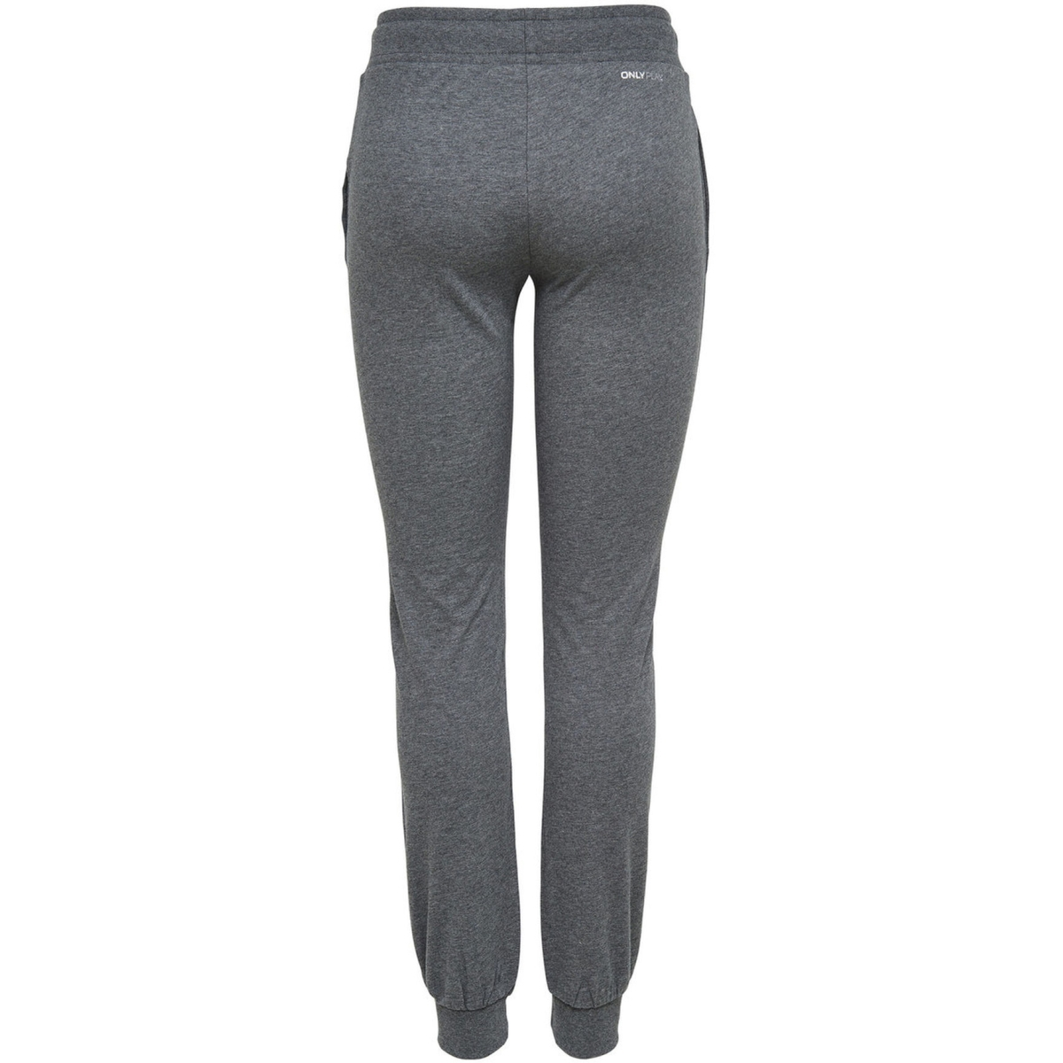 onplina sweat pants - opus 15108842 only play sport broek dark grey melange