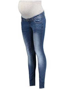 Mama-Licious Positie broek MLNINETY SLIM JEANS NOOS 20007107 Medium blue denim