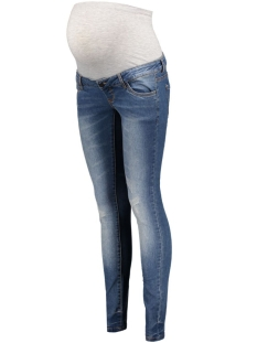 Mama-Licious Positie broek MLSCRATCH POCKET SLIM JEANS 20006883 Medium blue denim