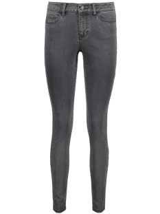 NMLUCY NW SLIM JEANS GU812 NOOS 10170902 Dark Grey Denim
