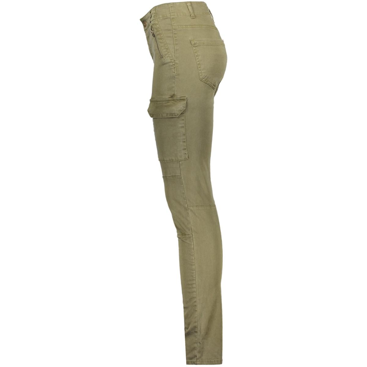vmseven nw cargo zip pants ga 10172351 vero moda broek ivy green