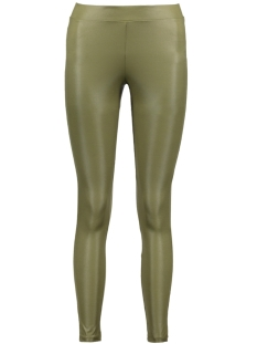 OBJMARDY COATED LEGGINGS 23023387 Ivy Green