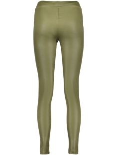 objmardy coated leggings 23023387 object legging ivy green