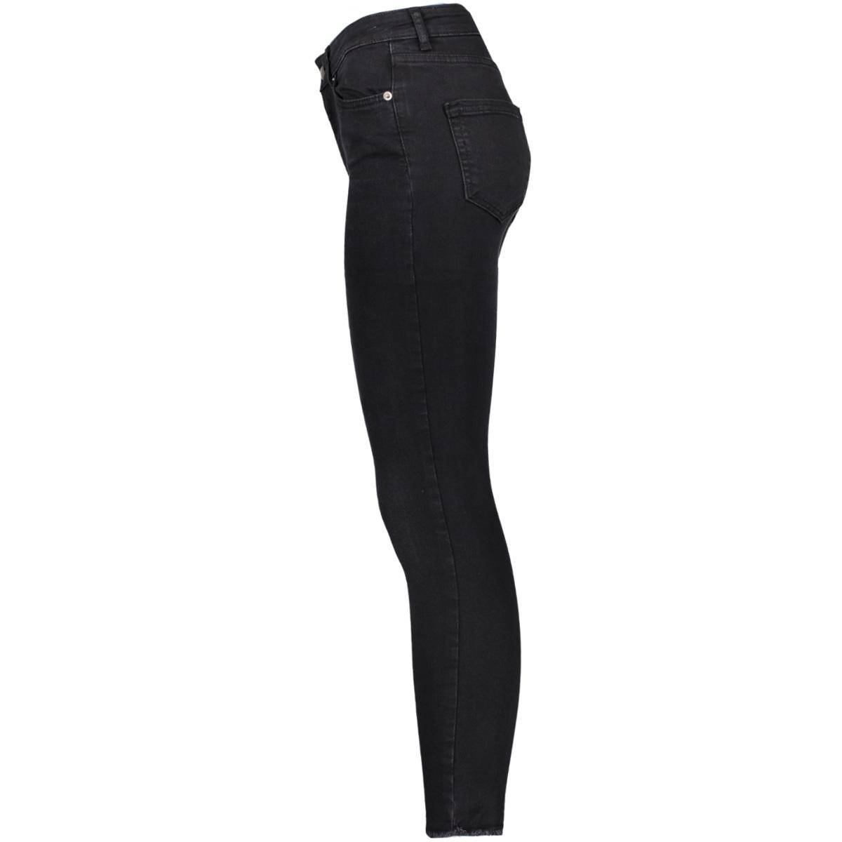 pcfive delly cropped jeans blk wash 17080921 pieces jeans black