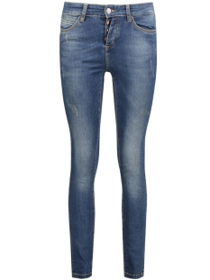 Object Jeans OBJSKINNYSALLY MW OBB235 89 DIV 23023814 Medium Blue Denim
