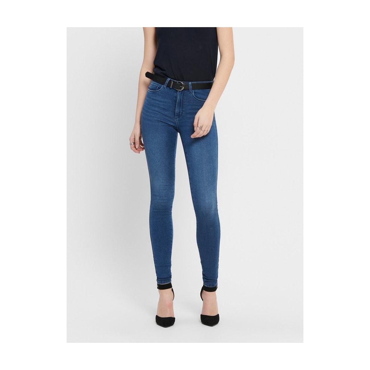 dba7b112d9 onlroyal high w.skinny jeans pim504 15097919 only jeans medium blue denim