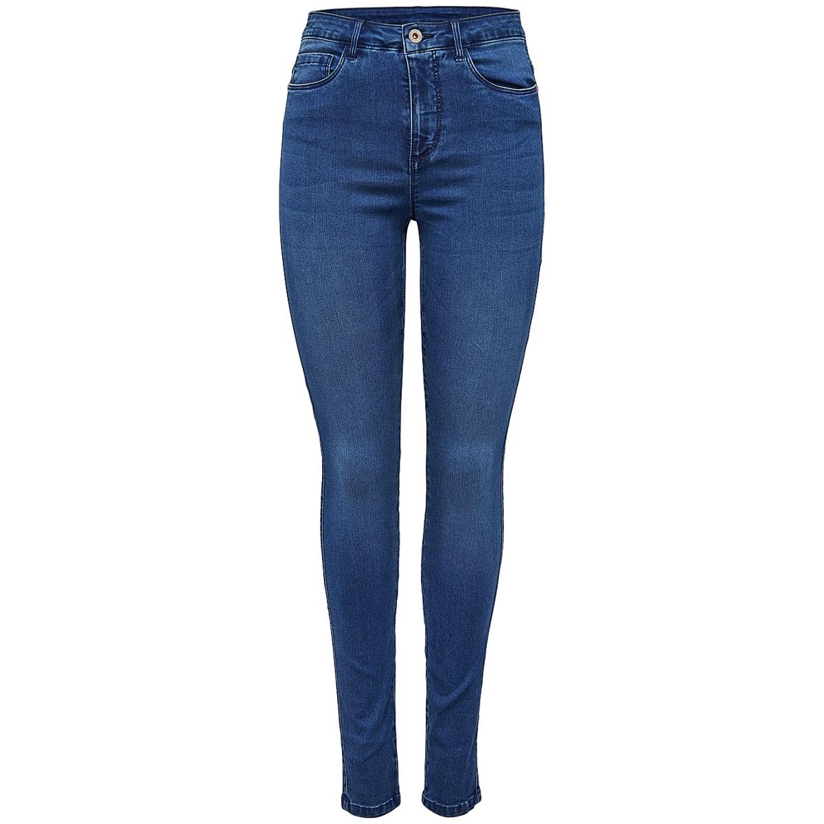 onlroyal high w.skinny jeans pim504 15097919 only jeans medium blue denim
