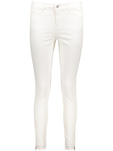 Vero Moda Jeans VMSEVEN NW SLIM ZIP ANKLE JEANS 10176352 Snow White