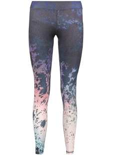 Only Play Sport broek onpBELLE AOP TRAINING TIGHTS 15125626 Blue Depths/Aop