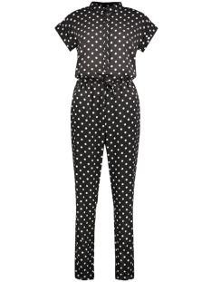 Only Jumpsuit onlTAMMY ROLLUP S/S JUMPSUIT BOX WV 15135081 Black/ Preppy Dot