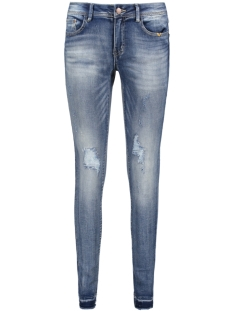 Vila Jeans VICOMMIT RW JEANS 14041707 Medium Blue Denim