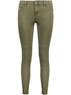 Object Jeans OBJSKINNYSALLY 7 /8 PINTUCK PANTS 9 23024425 Ivy Green