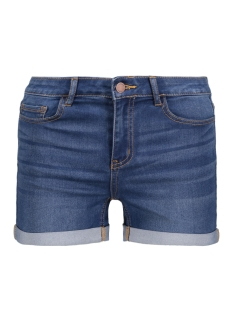 PCFIVE BETTY SHORTS MBLD W2 17081326 Medium Bleu Denim