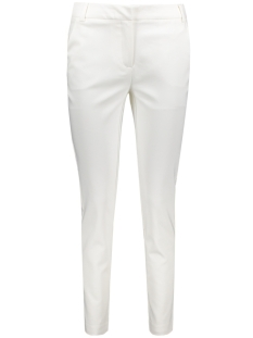 Vero Moda Broek VMRORO WHITE ANCLE PANTS 10179577 Snow White