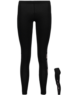 Only Play Sport broek onpVIBE JERSEY LEGGINGS 15131086 Black/ Pink Dogwood