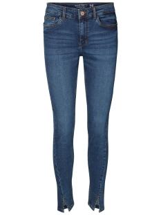 Noisy may Jeans NMLUCY NW TWIST SEAM SLIT ANKLE J. 10180998 Medium Blue Denim