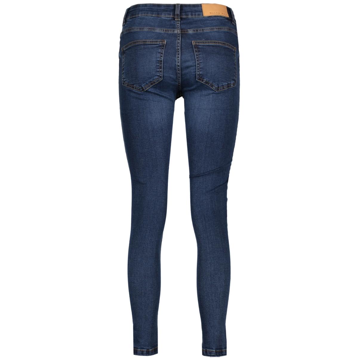 nmlucy nw twist seam slit ankle j. 10180998 noisy may jeans medium blue denim