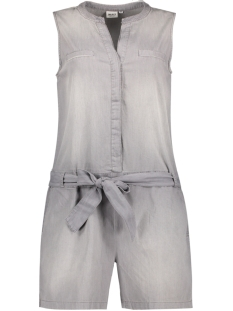 OBJCANSAS S/L PLAYSUIT 91 23024622 Light Grey Denim