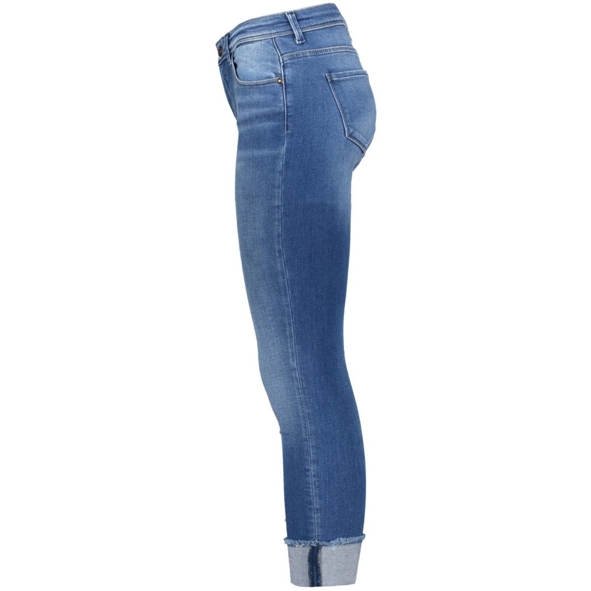 onlcarmen r ank fold raw ed rea1315 15138754 only jeans medium blue denim