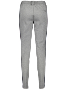 vizanza sweat pants 14043365 vila broek medium grey mel/track in d